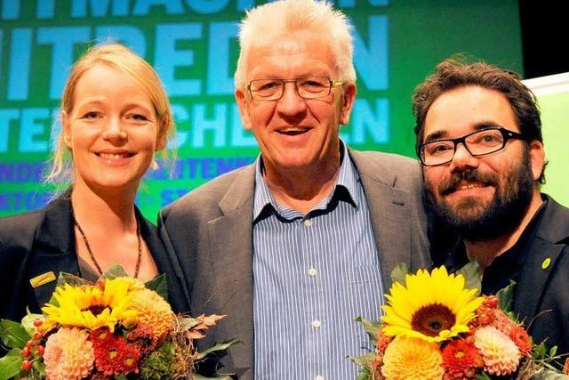 Neue Grünen-Spitze gewählt – Wieder Gerangel mit SPD
