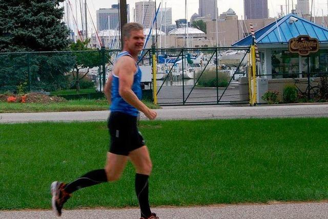 Ultraläufer Kai Horschig kann das Laufen nicht lassen