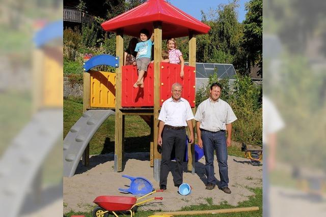 Erster Böllener Spielplatz eröffnet