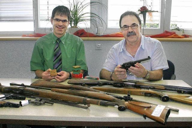 Mehr als 34 000 Waffen sind registriert
