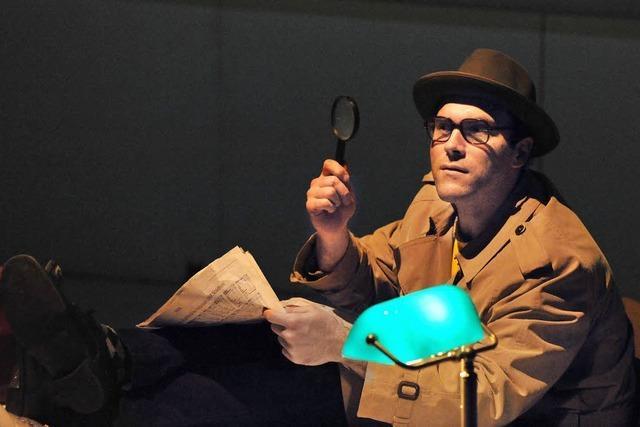 Lirum-Larum-Lesefest: Ein skurriler Detektiv mit Horchofon