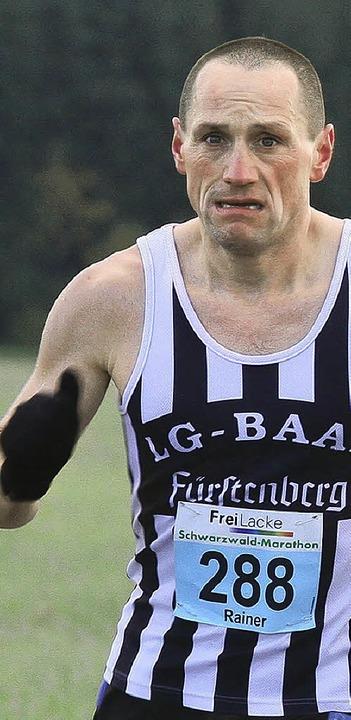 Mit Biss auf Rang drei: Rainer Sprich aus Eisenbach  | Foto: © direvi