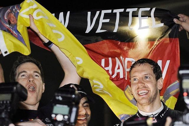 Sebastian Vettel: 24 Jahre, 98 Tage, zwei Titel
