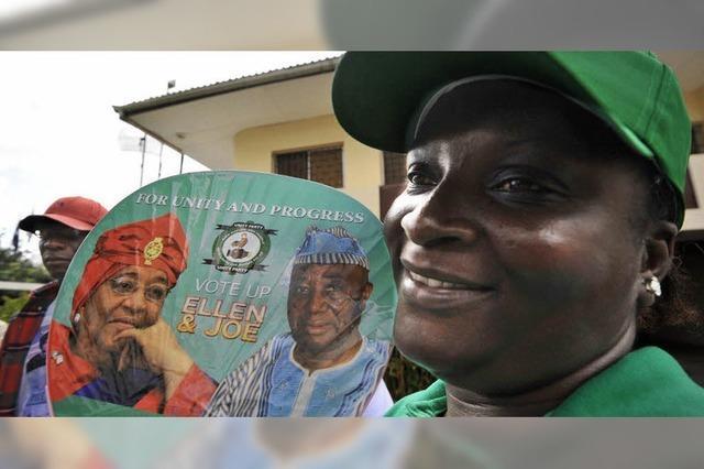 Liberias Opposition kritisiert Vergabe an Johnson-Sirleaf