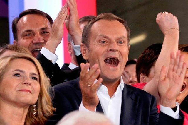 Regierung gewinnt Wahl in Polen