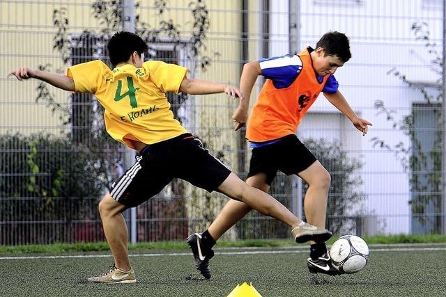 Ein Verein, zwei Trainingsorte