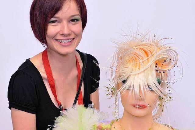Die Vize-Weltmeisterin der Friseure kommt aus Todtnau