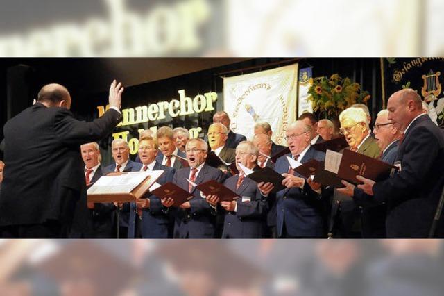 Gelungene Premiere des Männerchors