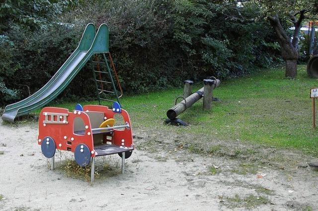 Spielplatz ist in desolatem Zustand