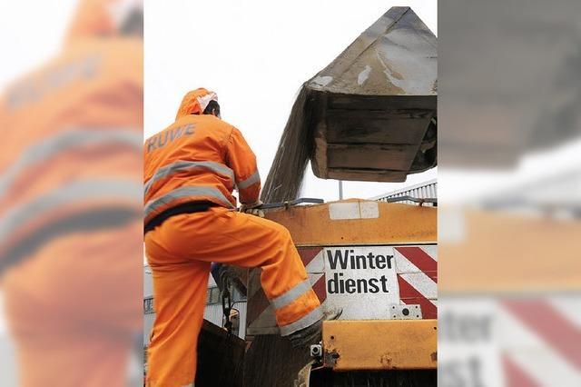Winterdienst mit Einschränkungen
