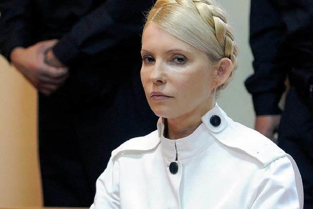 Haftstrafe für Timoschenko