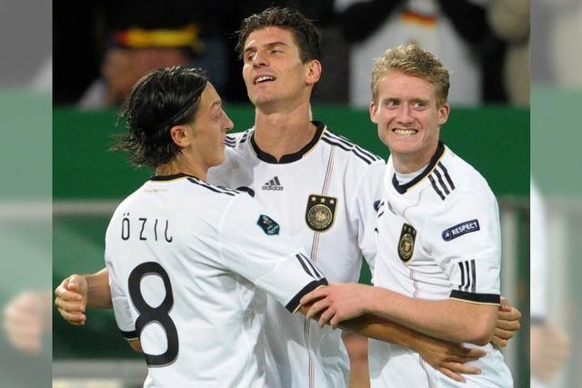 3:1 über Belgien: DFB-Auswahl schafft Quali-Rekord
