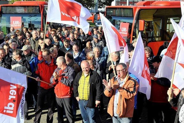 Verdi stellt Weichen für unbefristeten Streik in Freiburg