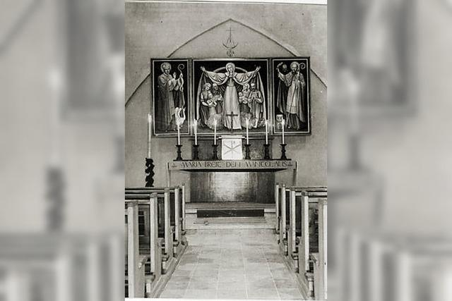 1954 wurde die Filialkirche in Marzell geweiht