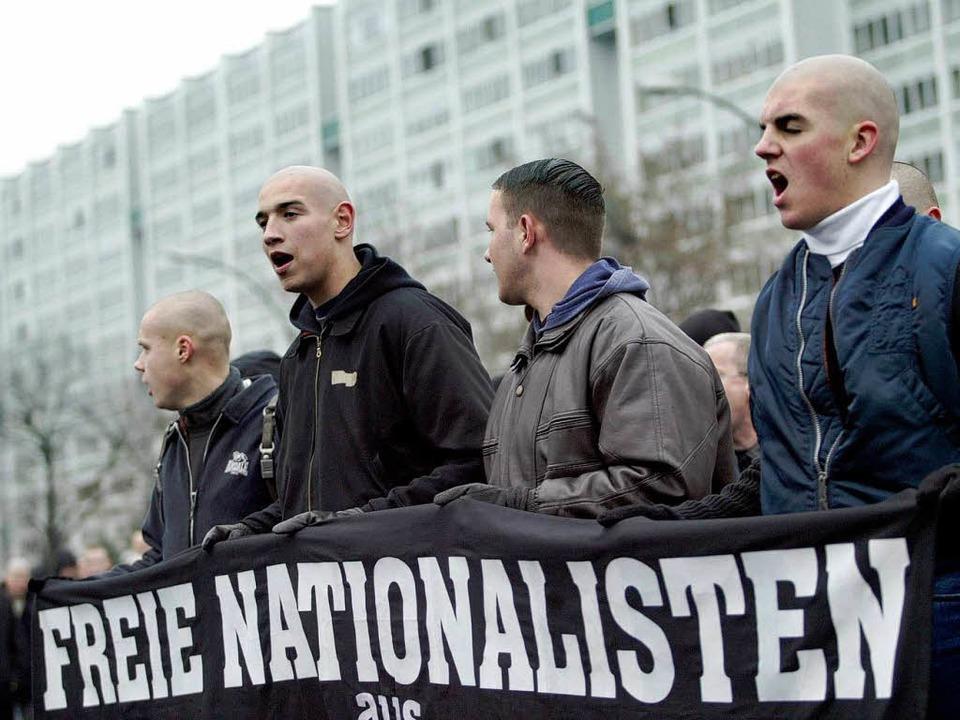 Gegen den Aufmarsch  der Neonazis bild... ein Widerstands-Bündnis. (Archivbild)  | Foto: Fabian Matzerath