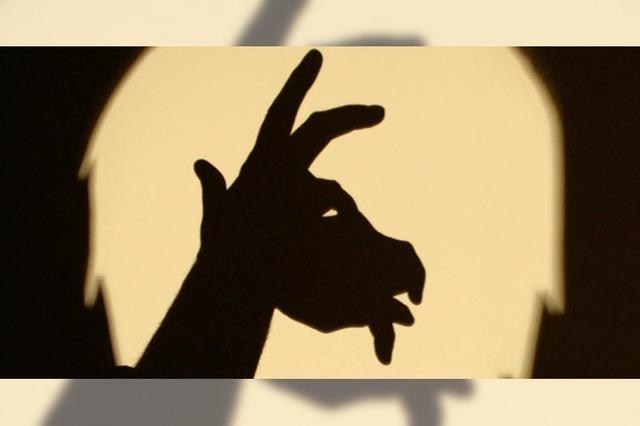 Schattentiere im Zirkus Dralladoni