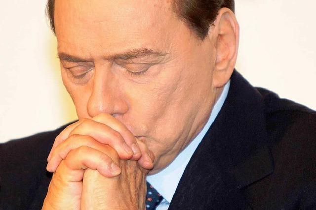 Berlusconi hat keine Mehrheit mehr