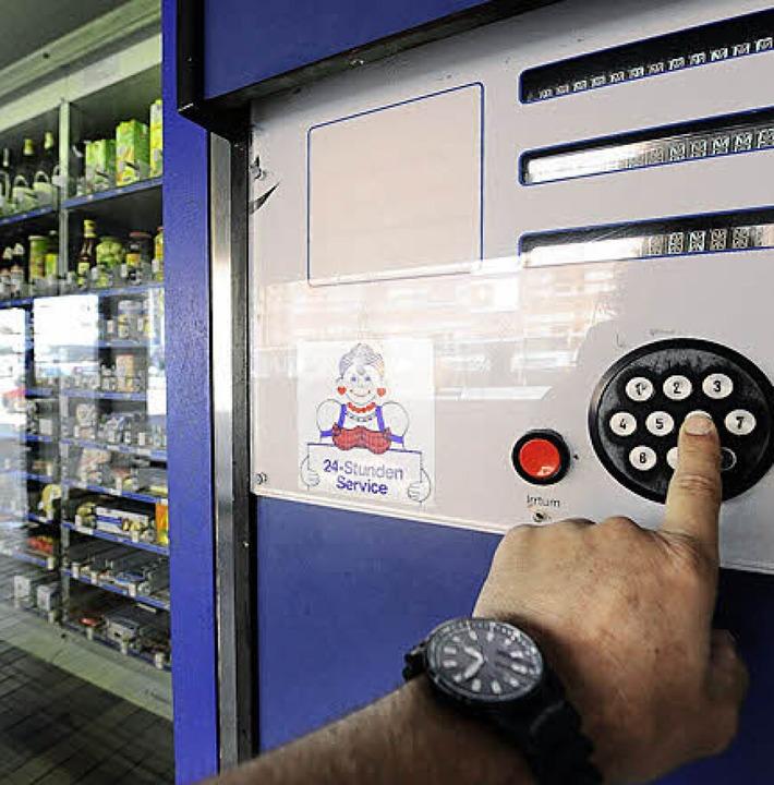 Automaten-Emma in der Waldkircher Strasse    Foto: Ingo Schneider
