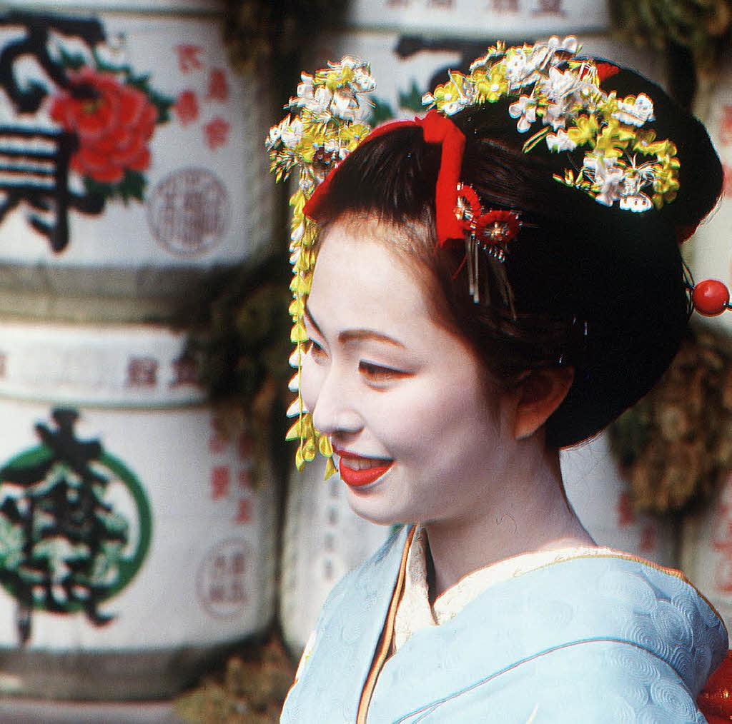 Die Geisha Aus Der Fremde Panorama Badische Zeitung