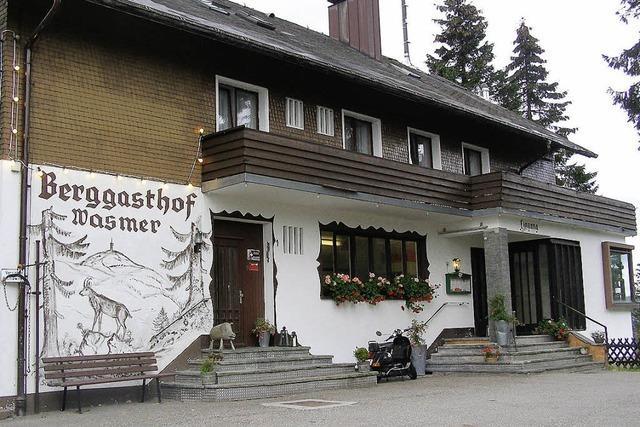 Berggasthof Wasmer feiert