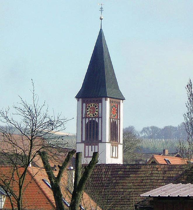 Die Kirche St. Georg in Ehrenstetten  | Foto: andrea gallien