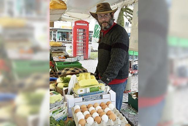 Ein Marktbeschicker fühlt sich von Fischer bedroht