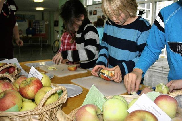 Gesundes Obst wächst nicht im Supermarkt