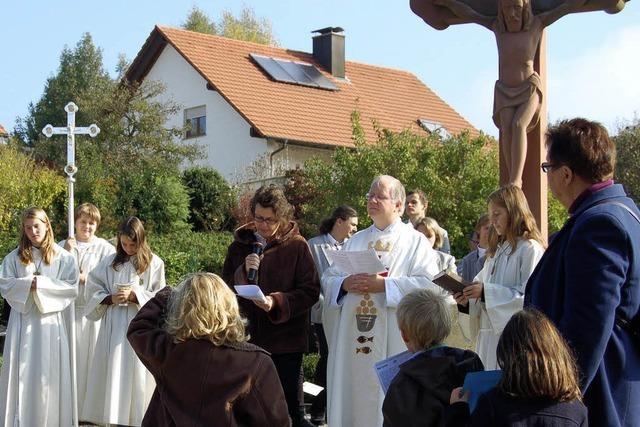 Der Erlös der Kirchweihe fließt in den Kirchturm