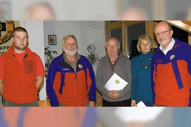 Bergwacht macht mit bewährtem Team weiter