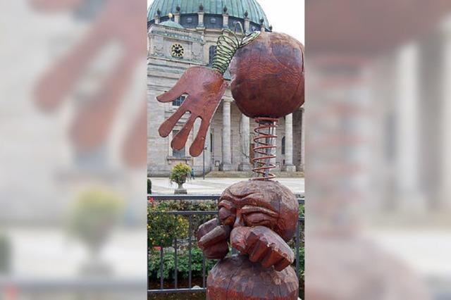 Skulpturenweg wirbt fürs Symposium