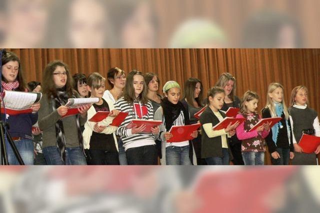 Sängerfest mit großem Echo