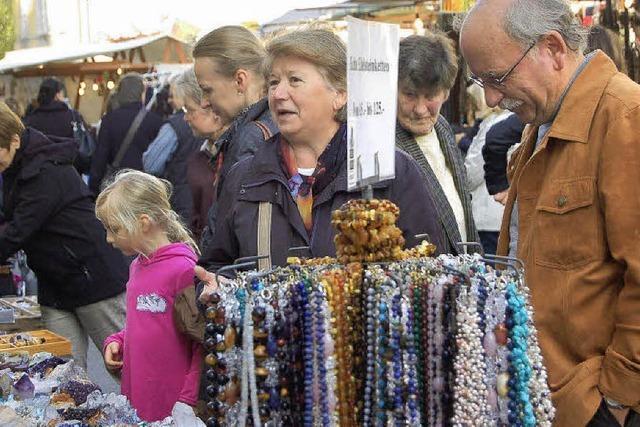 Andrang beim Chilbimarkt
