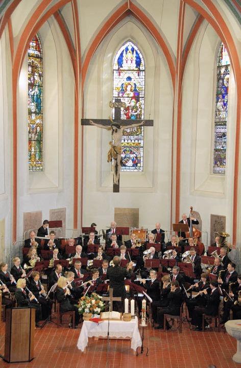 150 Jahre Stadtmusik, ökumenische Fest...ienst in der evangelischen Stadtkirche  | Foto: Sylvia-Karina Jahn