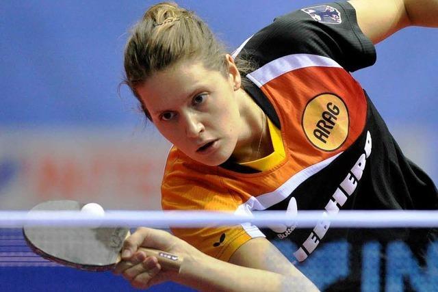Irene Ivancan holt bei der Tischtennis-EM Silber