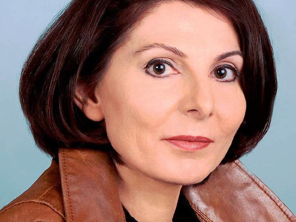 Zurücktasten in die eigene Kindheit: Manuela Fuelle   | Foto: Stock-Müller