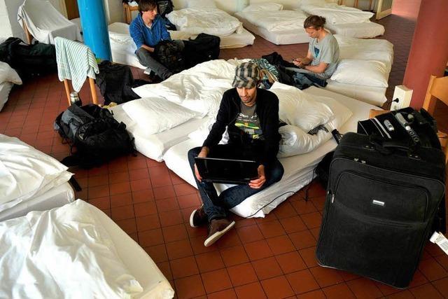 Wohnungsnot: Studenten müssen in Notlager ausweichen