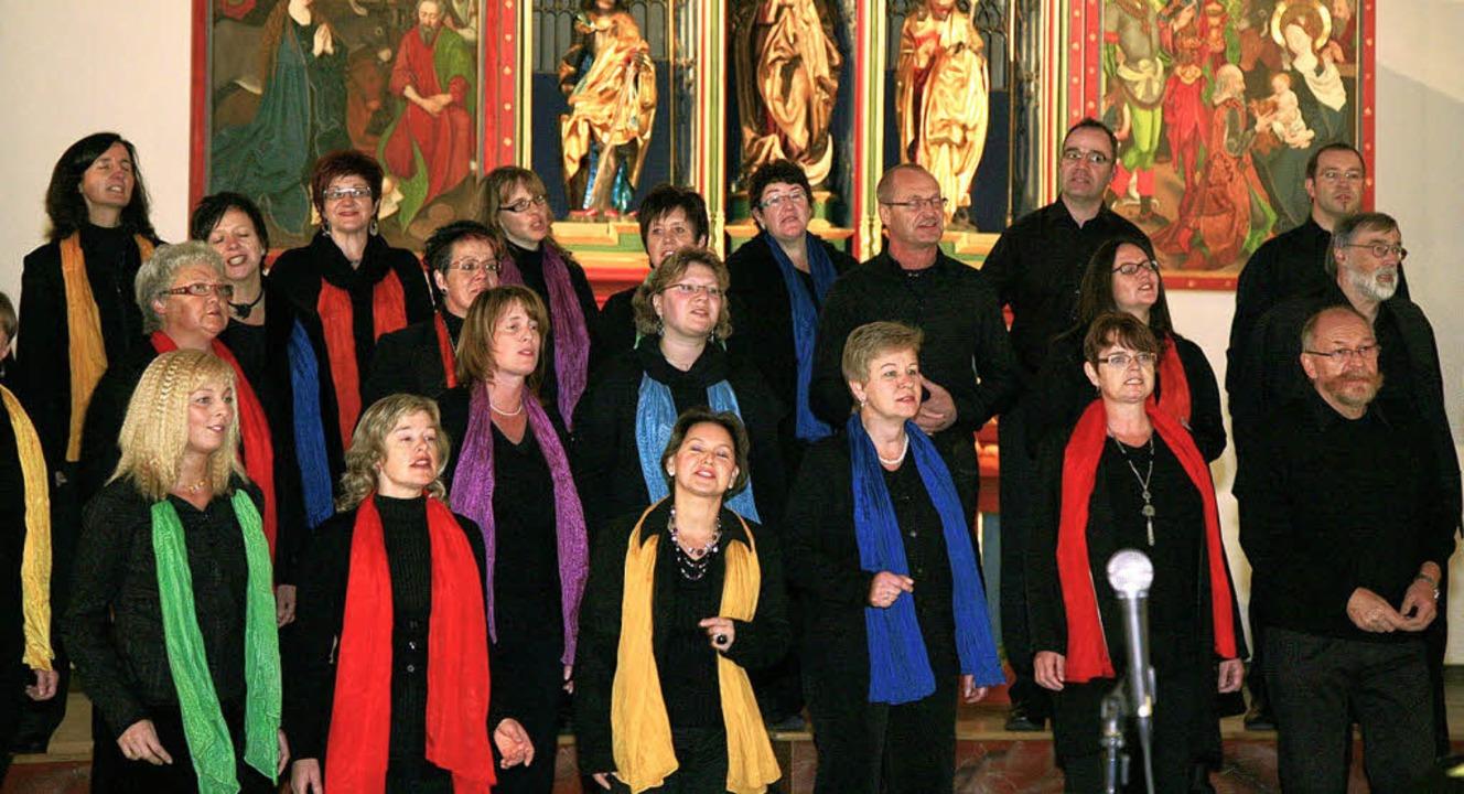 Ambitionierter Gospel-Gesang: Die Gospels Singers Rheinhausen in Kippenheim  | Foto: Decoux-Kone