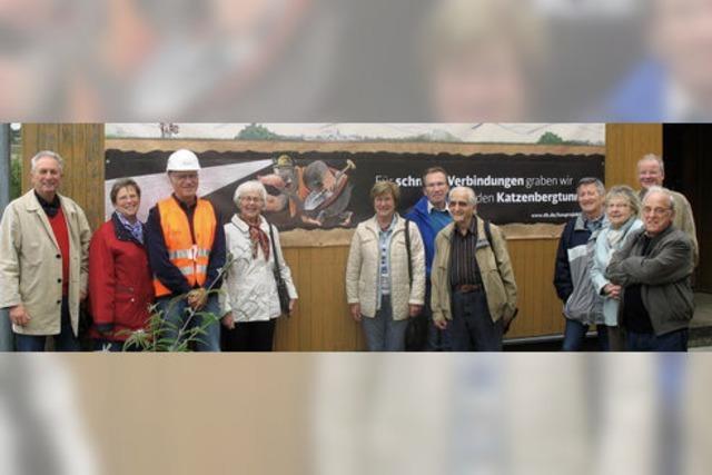 CDU-Stadtverband besuchte bei Sommeraktion die Bahnbaustellen