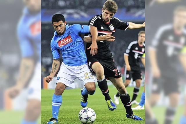 Bayern München in Neapel: Spaßfrei unterm Vesuv