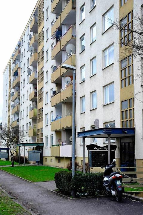 Seit 2005 im Besitz der Gagfah: die Häuser im Auggener Weg  | Foto: Thomas Kunz