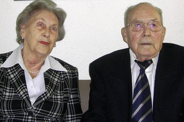 Sechs Jahrzehnte lang verheiratet