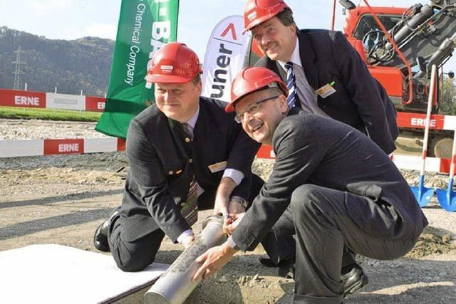 BASF erweitert Standort Kaisten