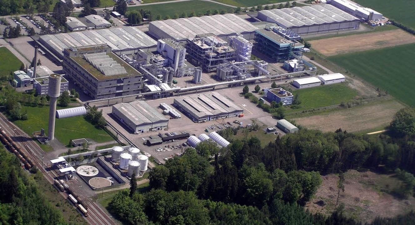 Das BASF-Werk in Kaisten   | Foto: BASF