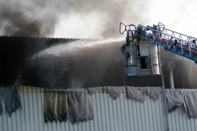 Trotz Großbrand kein Produktionsausfall bei Treibacher