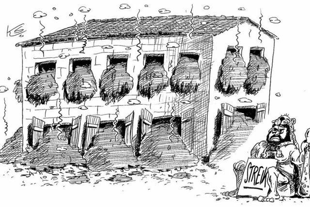 Herkulesaufgabe: Ausmisten des Augiasstalls