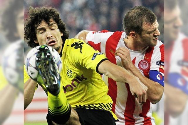 Für Dortmund sieht's in der Champions League schlecht aus