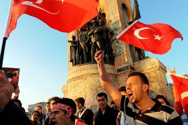 Schock und Wut in Ankara