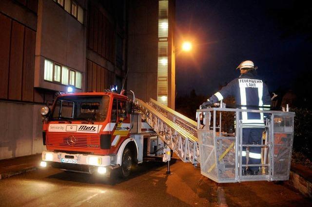 Schwelbrand bei Roth-Händle in Lahr