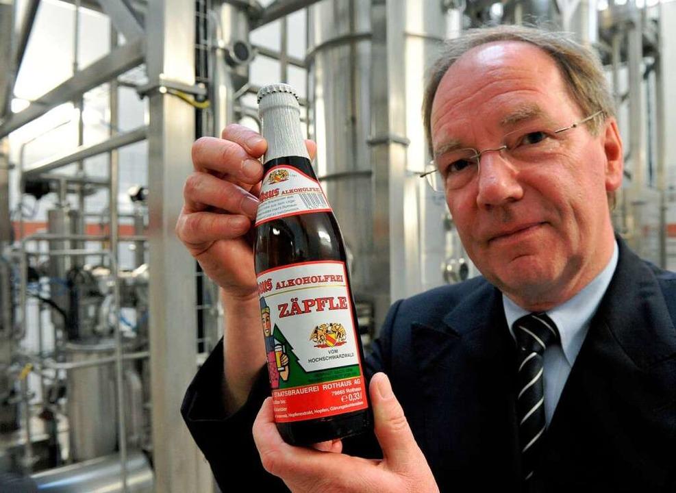 Der Alleinvorstand der landeseigenen B... der Brauerei in Grafenhausen-Rothaus.  | Foto: dpa