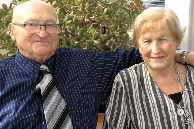 Seit 60 Jahren sind sie ein Paar